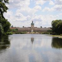 Blick über den Karpfenteich zum Schlossparterre © N. A. Klöhn