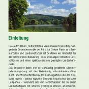 Ausschnitt aus dem NaturErlebnis-Flyer des Landkreises Greiz  (Rückseite). Zum Download s.a. Webseite der Greizer Parkfreunde unten.