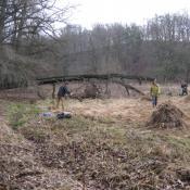 Beräumung der Schlosswiese zum Parkseminar 2012. © B. Pätzig