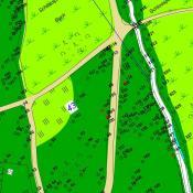 Digitales Baumkataster Schlosspark Buch - Ausschnitt Baumkarte. © BA Pankow Grünflächenamt.